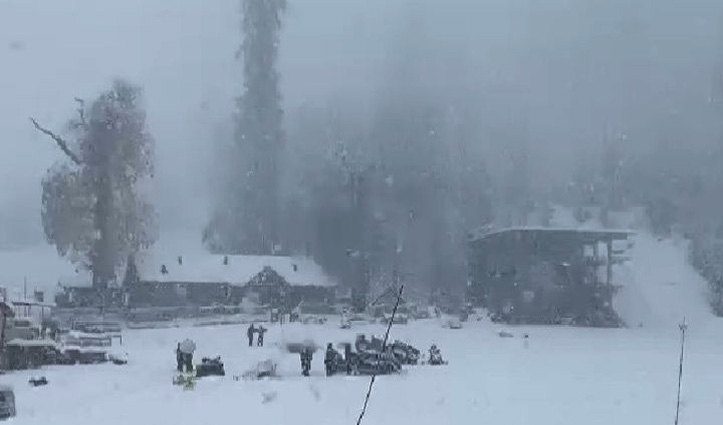 Himachal में आज से बिगड़ेगा मौसम, ऊंची चोटियों पर बर्फबारी शुरू, Atal Tunnel सैलानियों के लिए बंद