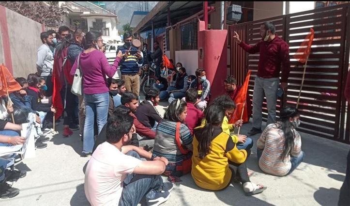 ABVP के 20 कार्यकर्ताओं पर FIR, सेंट्रल यूनिवर्सिटी के रजिस्ट्रार से झगड़े का आरोप