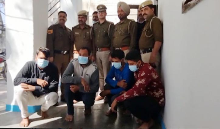 चरस के साथ स्वारघाट पुलिस ने चार दबोचे, मलाणा से हरियाणा ले जा रहे थे खेप