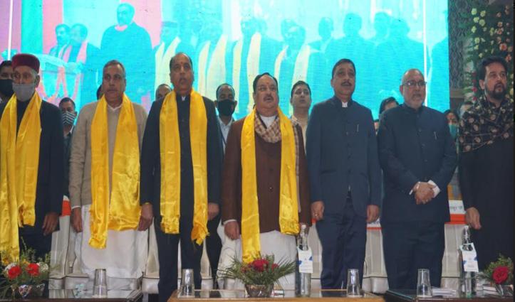 खन्ना बोले- #jairam की कनेक्टिविटी अच्छी, धूमल ने कहा-कोई संगठन से बड़ा नहीं