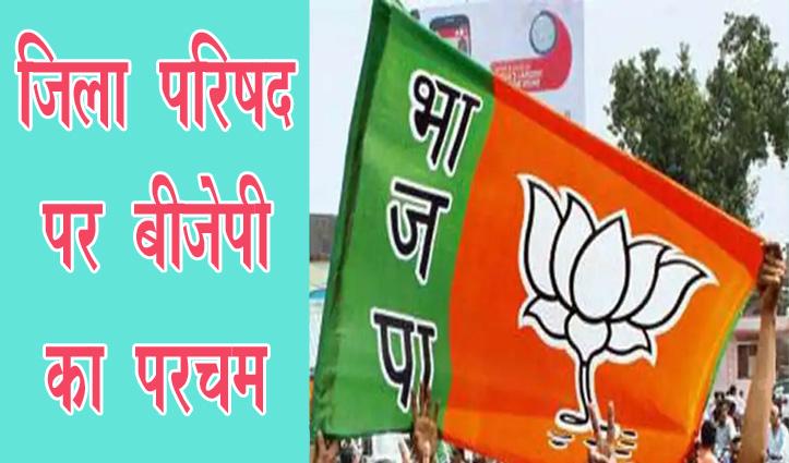 Himachal की इन जिला परिषद पर #BJP का परचम, Kangra में इन्हें मिली सरदारी