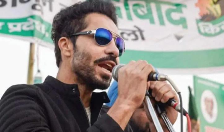 लाल किला हिंसा के मुख्य आरोपी Deep Sidhu को सात दिन की पुलिस रिमांड