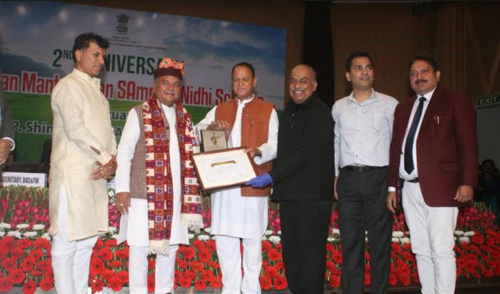 दिल्ली में Himachal की धाक, पीएम-किसान योजना के तहत चार पुरस्कारों पर जमाया कब्जा