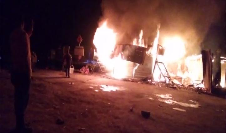 Shimla: रोहड़ू में एक ढाबे सहित चार दुकानें जलीं, 15 को जलने से बचाया