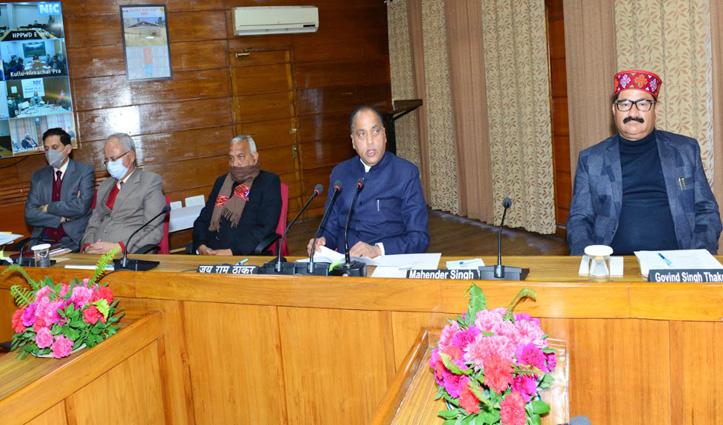 Himachal: विकास कार्यों में लेटलतीफी पर अधिकारियों की खैर नहीं, #jairam सख्त