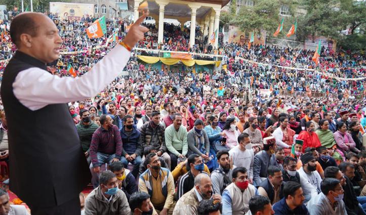 मंडी का एक दौर आया है, जिन्हें समझ नहीं आ रहा उन्हें समझाना चाहिए : जयराम ठाकुर