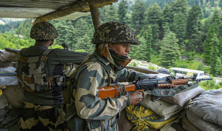 जम्मू-कश्मीर : सांबा में घुसपैठ की कोशिश कर रहा था पाकिस्तानी, BSF ने मार गिराया