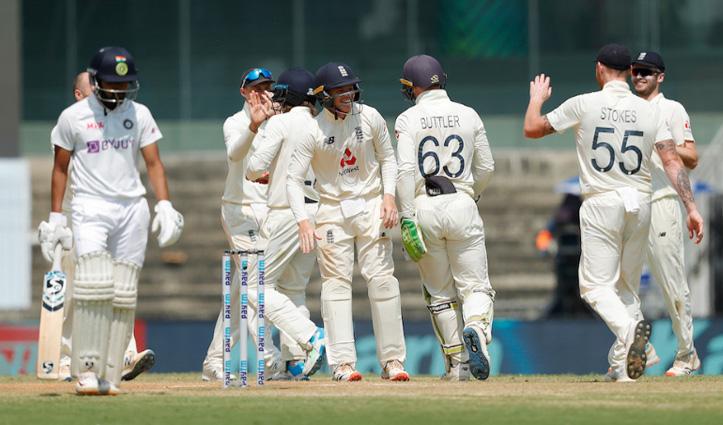 #INDvENG : चेन्नई टेस्ट मैच हारा भारत, भारतीय टीम की इंग्लैंड के खिलाफ घरेलू मैदान पर सबसे बड़ी हार