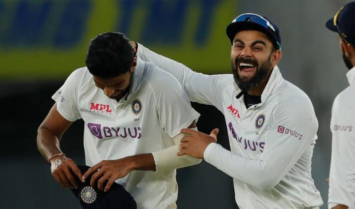 भारत ने डेढ़ दिन में जीता डे-नाइट टेस्ट : पटेल बॉलिंग 'अक्षर' नहीं समझ पाए अंग्रेज; झटके 11 विकेट
