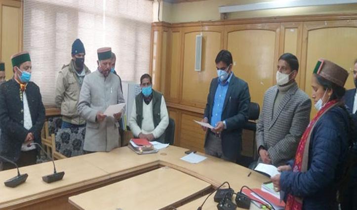 किन्नौर जिपः अध्यक्ष पद पर बीजेपी तो उपाध्यक्ष पर कांग्रेस काबिज, टॉस से हुआ फैसला