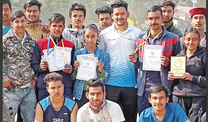 राज्य स्तरीय एथलेटिक्स प्रतियोगिता में Kullu जिला के खिलाड़ियों ने जीते सिल्वर और ब्राउन मेडल