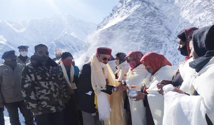लाहुल के हर गांव में अगले साल से मनाया जाएगा स्नो- फेस्टिवल