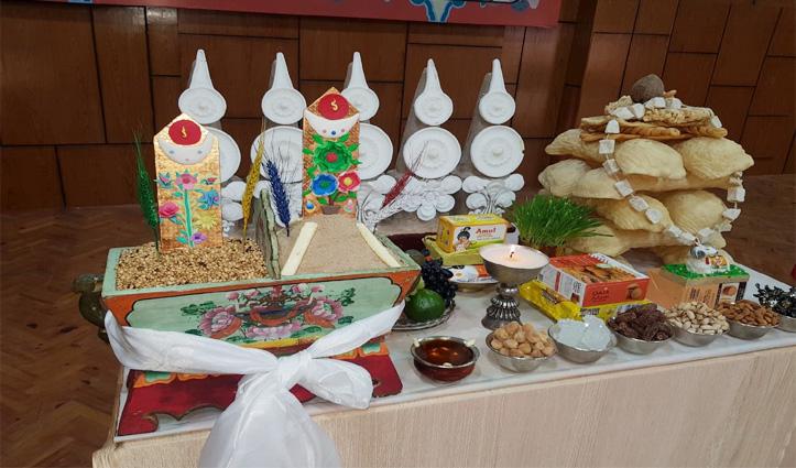 तिब्बतियों का नववर्ष Losar शुरू, घरों में ही हो रहे छोटे-छोटे आयोजन