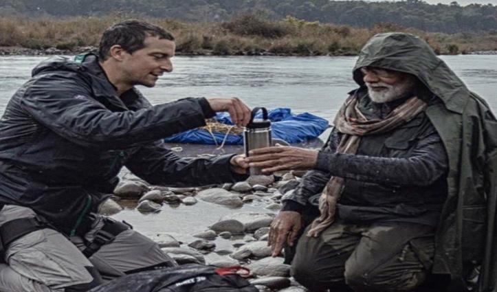 Man Vs Wild : बेयर ग्रिल्स ने पीएम मोदी के साथ चाय पीने वाली फोटो की शेयर