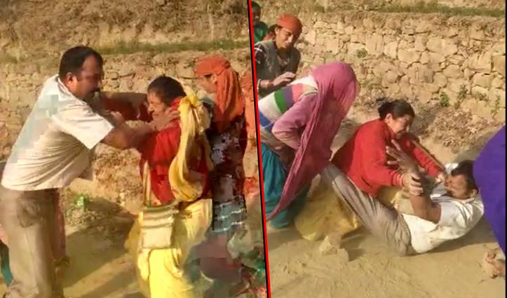 Himachal : सड़क चौड़ी करने उतरी महिलाओं ने पत्थरों और डंडों से पीटा व्यक्ति, क्रॉस केस