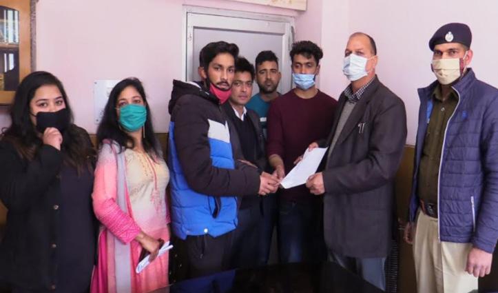 सुंदरनगर #gangrape: युवा शक्ति का फूटा गुस्सा, किया प्रदर्शन- आरोपियों को मांगी फांसी
