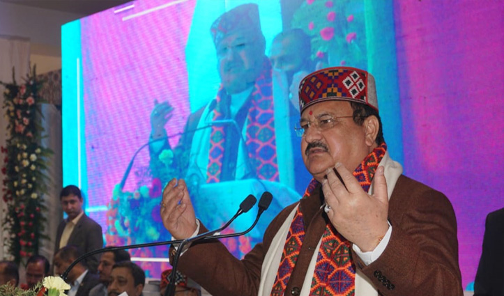 Each and every party worker of BJP must work with dedication and commitment: Nadda