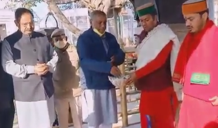 ऊर्जा मंत्री ने नैना देवी मंदिर में टेका माथा, रणधीर शर्मा सरकार में बनें मंत्री, की यह प्रार्थना