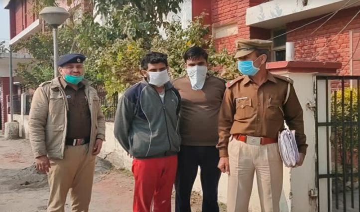पांवटा पुलिस ने तिहाड़ जेल से गिरफ्तार किए दो आरोपी, 2018 में चुराए थे 32 लाख के मोबाइल