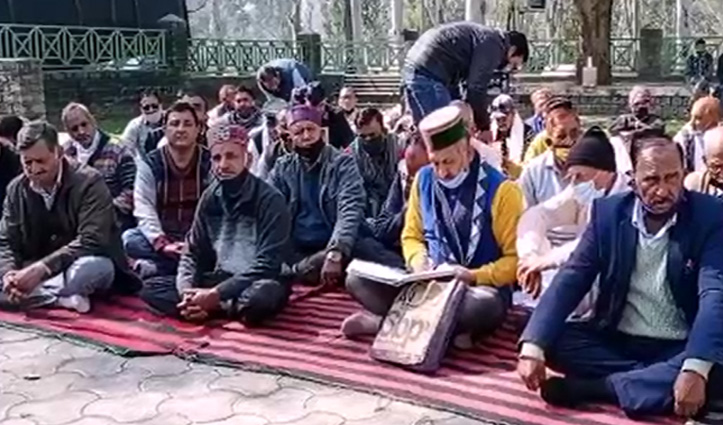 घुमारवीं में किसानों के समर्थन में Congress का हल्ला, PM मांगें माफी