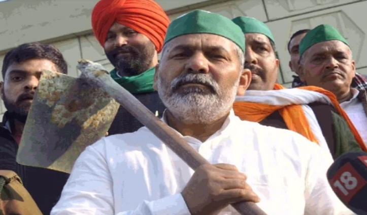 #farmersprotest अब किसान अपने फौजी बेटों की तस्वीरों के साथ करेंगे प्रदर्शन : #RakeshTikait