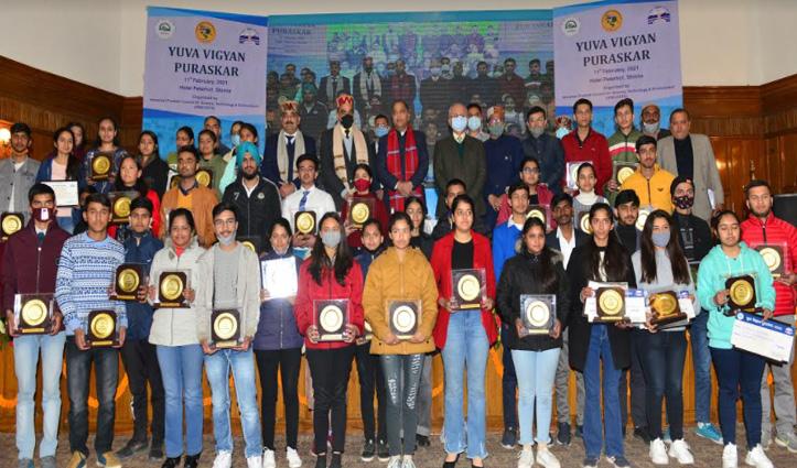 Jai Ram Thakur की शिक्षकों को सलाह, युवा विज्ञान पुरस्कार योजना के तहत 46 पुरस्कृत