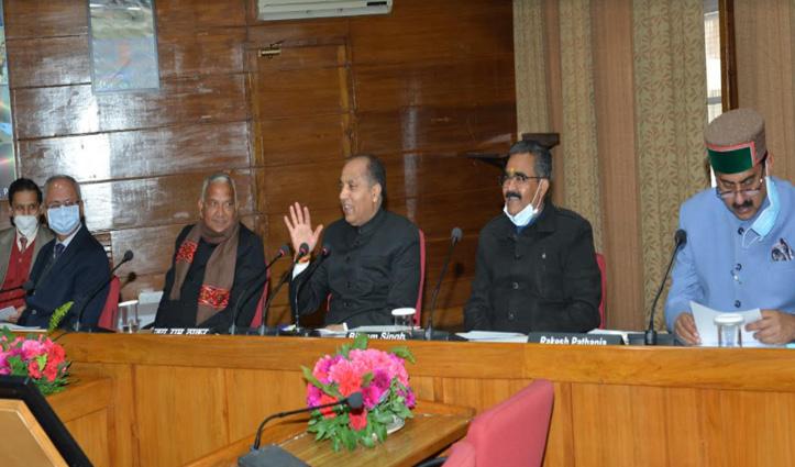 विधायक प्राथमिकता बैठकः Kangra और हमीरपुर के MLA ने रखी अपनी बात