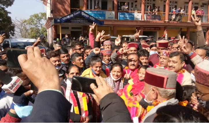 #Sirmaur जिला परिषद पर BJP काबिज, कुछ इस तरह रोचक रहा यह चुनाव- जानिए