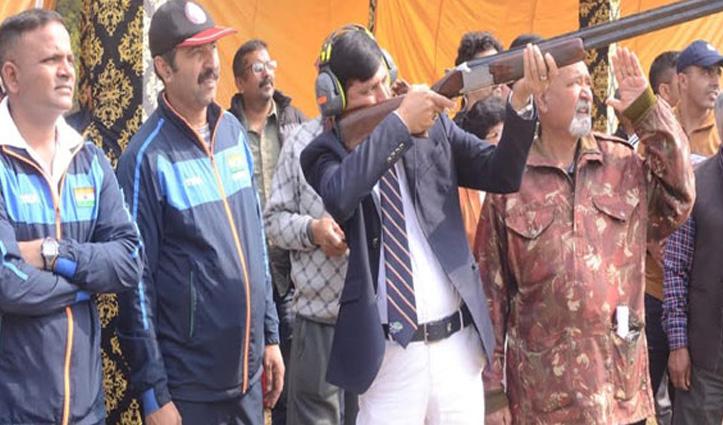 राज्य स्तरीय निशानेबाजी प्रतियोगिता: अर्जुन अवार्डी व DSP विजय कुमार ने जीते दो स्वर्ण पदक