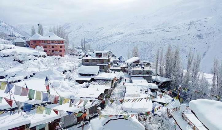 Himachal Weather : बारिश और बर्फबारी, शिमला में ओलावृष्टि; अटल टनल पर्यटकों के लिए बंद