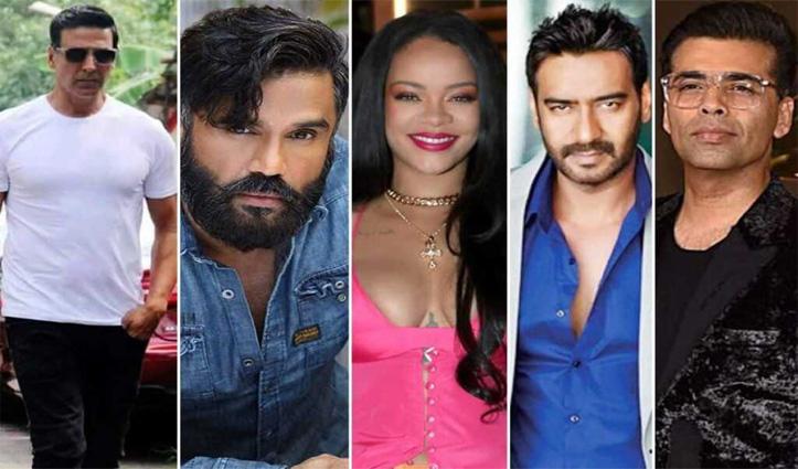 Rihanna पर बॉलीवुड का पलटवार, अक्षय-अजय देवगन-करण जौहर-एकता कपूर ने लिखा #IndiaTogether