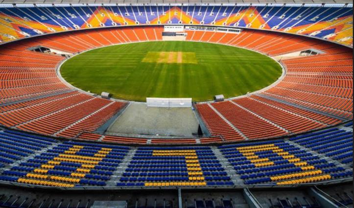 """Narendra Modi के नाम से जाना जाएगा दुनिया का सबसे बड़ा क्रिकेट स्टेडियम """"मोटेरा"""""""