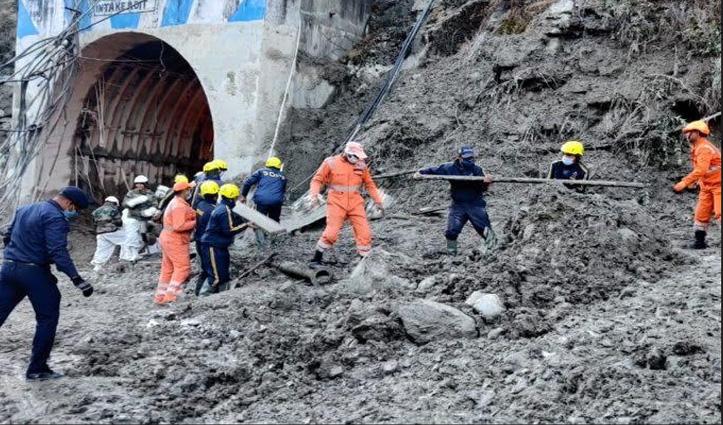 Uttarakhand Glacier Burst : टनल-आसपास के इलाकों से निकाले 26 शव, 197 अभी भी लापता