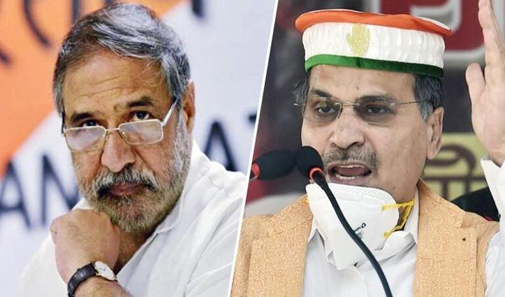 ISF से गठबंधन पर कांग्रेस नेता आनंद शर्मा और अधीर रंजन चौधरी आमने-सामने