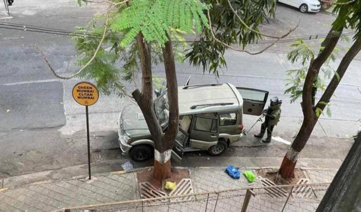 एंटीलिया स्कॉर्पियो कार केस : जिस कार में बैठ कर भागा संदिग्ध वो क्राइम ब्रांच की निकली