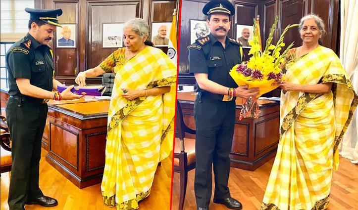 राजनाथ सिंह और निर्मला सीतारमण से मिले अनुराग ठाकुर