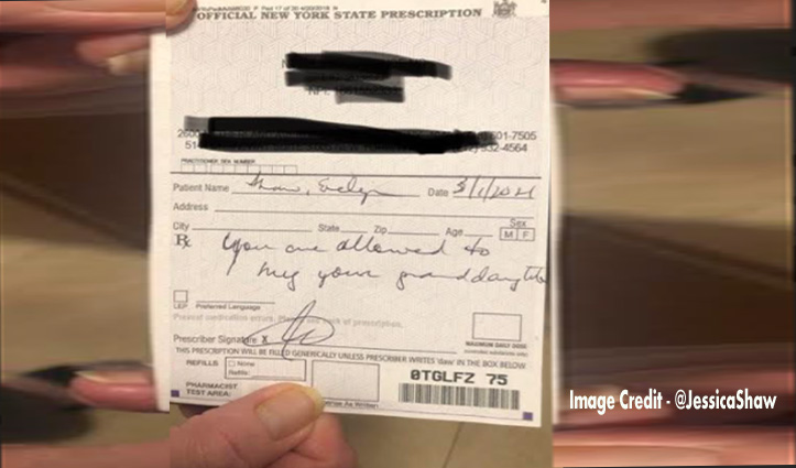 Doctor ने 81 साल की दादी की पर्ची पर लिखा कुछ ऐसा, खुशी के मारे निकले आंसू