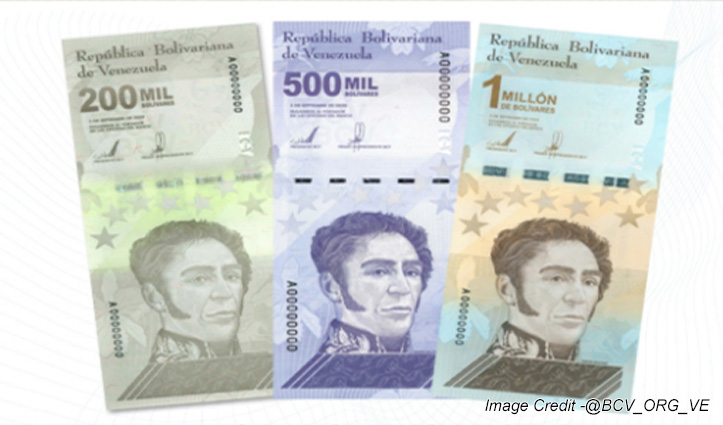 घोर आर्थिक संकट का सामना कर रहे इस देश ने जारी किया  10 लाख का नोट