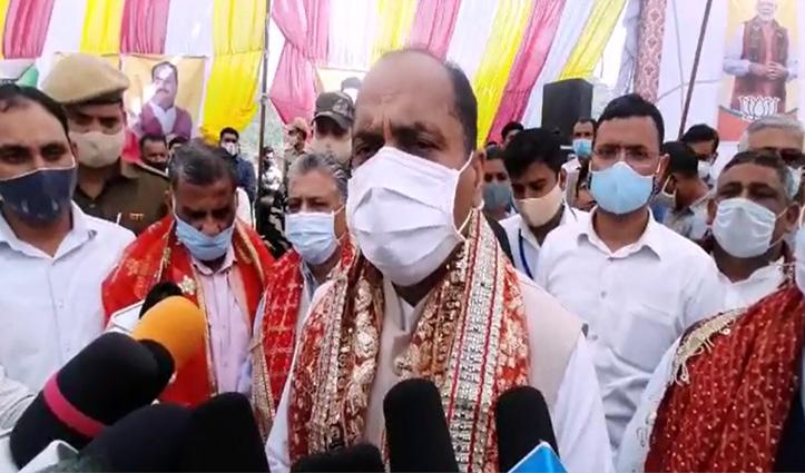 जयराम बोले-हिमाचल में बुरी तरह बिखरी #Congress, उछाल रही अनावश्यक मुद्दे