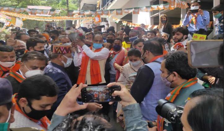 नगर निगम सोलन के लिए BJP का संकल्प पत्र जारी, पूरा करने का वादा
