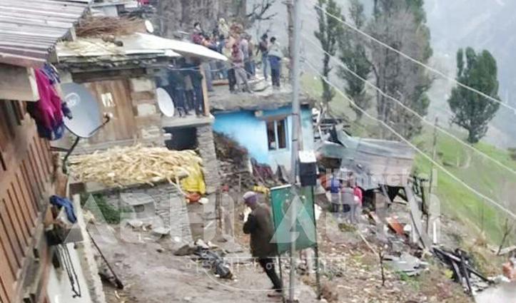 Breaking: हिमाचल में बड़ा हादसा-आग में दम घुटने से दो बच्चों सहित परिवार के 4 की मौत, 9 पशु भी जले