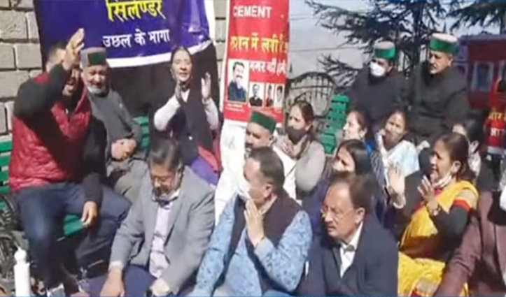 Budget session: सदन में प्रश्नकाल शुरू, कांग्रेस के सभी विधायक धरने पर