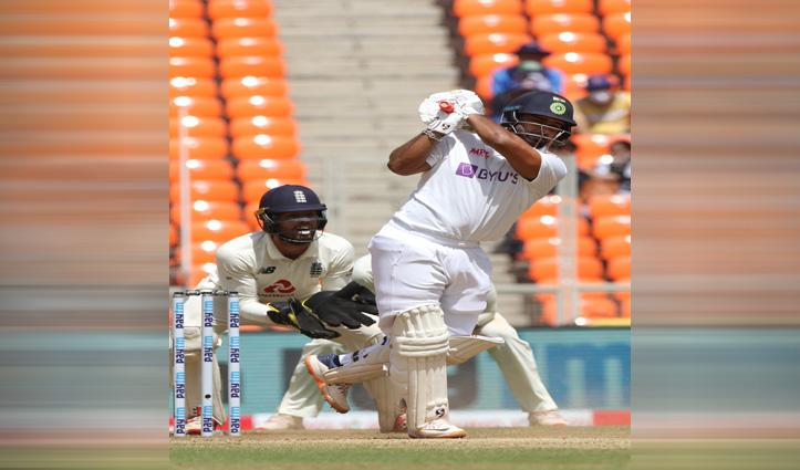 #INDvENG मोटेरा टेस्ट : पंत-सुंदर ने करवाई भारत की वापसी, लगाया करियर का तीसरा शतक