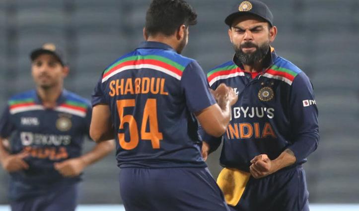 #ENGvsIND भारत ने जीता पहला ODI, डेब्यूटेंट कृष्णा ने झटके 4 विकेट-पांड्या की सबसे तेज 50