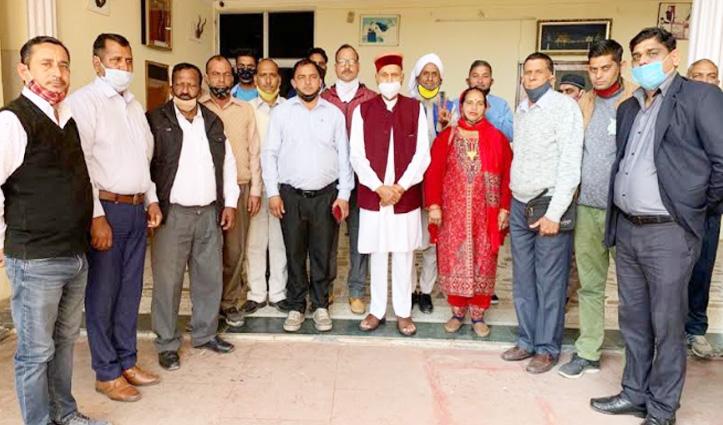#Dhumal बोले- आत्मनिर्भर भारत की नींव मजबूत करने में पंचायतें भी करें सहयोग
