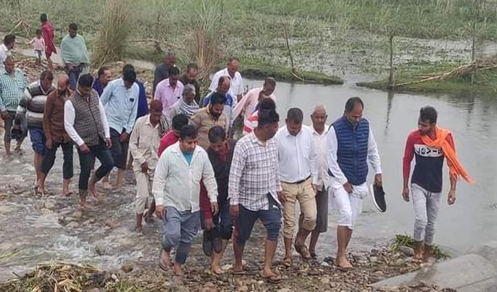 #Kangra: मंड क्षेत्र में बाढ़ से तबाही, कमेटी बनाकर की जाएगी नुकसान की भरपाई
