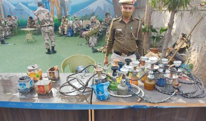 """Delhi Police ने सीज किया नशे का सामान, Twitter पर लिखा """"यहां पावरी नहीं हो रही है"""""""
