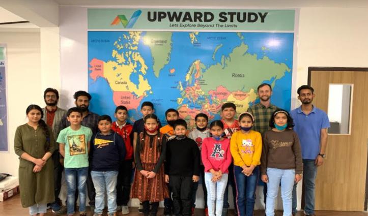 धर्मशाला अपवर्ड स्टडी संस्थान के 12 बच्चों ने पास की सैनिक स्कूल परीक्षा