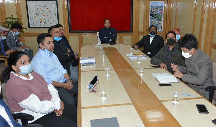 रिबिल्डिंग इंडिया इनिशिएटिव की प्रस्तुति