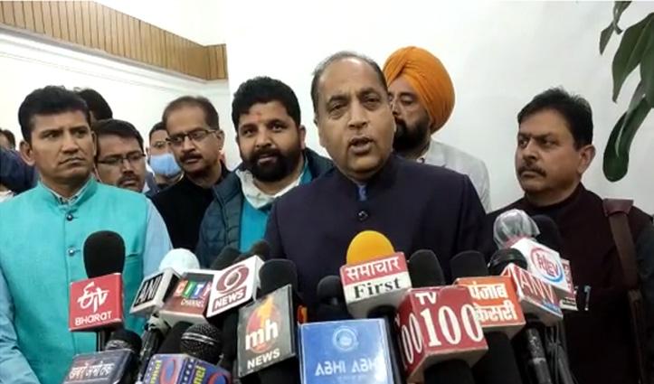 #jairam बोले- वीरभद्र सिंह का करते हैं सम्मान, पर राज्यपाल से माफी मांगे विपक्ष